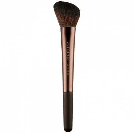 Nude By Nature Angled Blush Brush 1 each