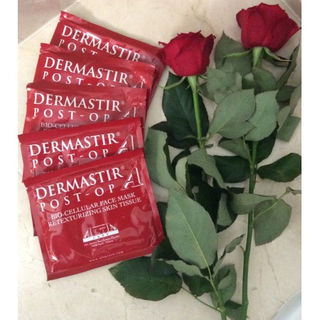 Dermastir Post-Op Bio-Cellular 5 Face Masks – Whitening