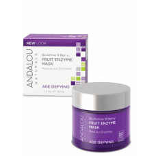 Andalou Naturals Age Defying Bioactive 8 Berry Fruit Enzyme Mask 50 gm