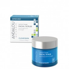 Andalou Naturals Clear Skin Lemon Sugar Facial Scrub 50 gm