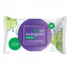 Swisspers Cucumber Cleansing Facial Wipes 25 pack