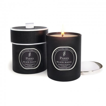 Parks London Black Magic Grapefruit, Tangerine & Vetiver Candle 235gm